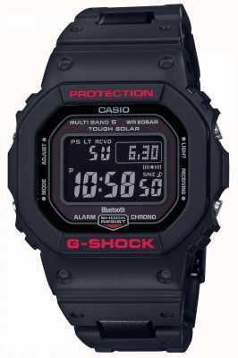 Casio Męski pasek g-shock Heritage czarny z żywicy cyfrowej GW-B5600HR-1ER