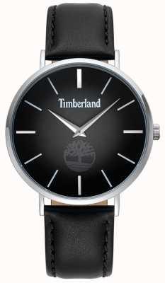 Timberland | męskie rangeley | czarny skórzany pasek | czarna tarcza | 15514JS/02