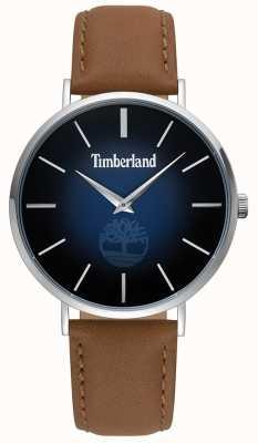 Timberland | męskie rangeley | brązowa skóra | niebieska tarcza | 15514JS/03
