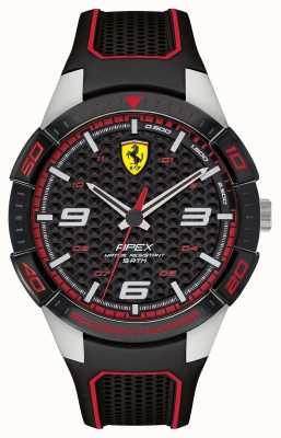 Scuderia Ferrari | wierzchołek męski | czarny pasek z gumy | blackred dial | 0830630