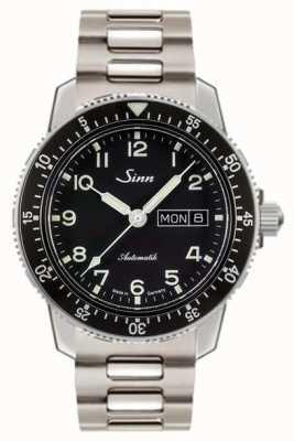 Sinn 104 st to klasyczny pilotkowy zegarek ze stali z dwiema linkami 104.011 TWO LINK BRACELET