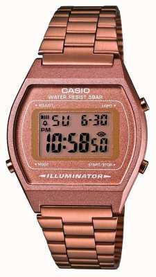 Casio Unisex | casio | vintage | różowe złoto B640WC-5AEF
