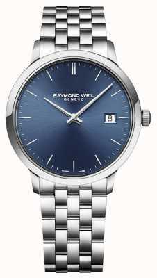 Raymond Weil | męskie toccata | klasyczna stal nierdzewna | niebieska tarcza | 5485-ST-50001