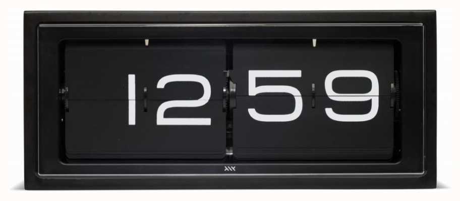 Leff Amsterdam | zegar z czarnej cegły | LT15401