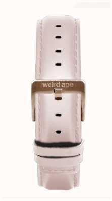 Weird Ape Różowo-skórzany pasek z 16mm różowej złotej sprzączki ST01-000112