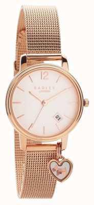 Radley | damska bransoletka z różowego złota | tarcza z różowego złota | RY4390