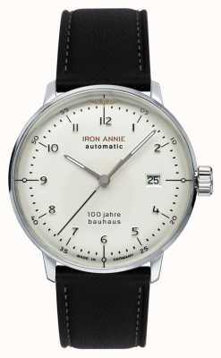Iron Annie Bauhaus | automatyczne | czarny skórzany pasek | 5056-1