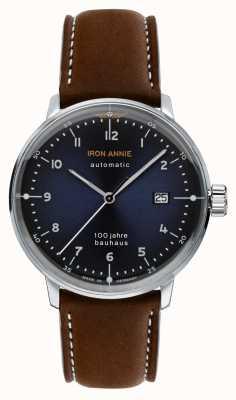 Iron Annie Bauhaus | automatyczne | brązowy skórzany pasek | 5056-3