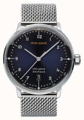 Iron Annie Bauhaus | niebieska tarcza | siatka ze stali nierdzewnej 5046M-3