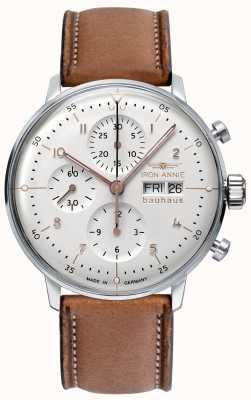 Iron Annie Bauhaus | automatyczne | chronograf | biała tarcza 5018-4