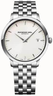 Raymond Weil Męski zegarek toccata z tarczą ze stali nierdzewnej 5488-ST-40001