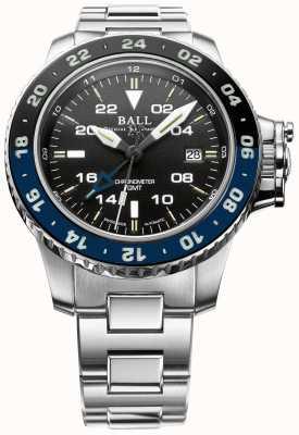 """Ball Watch Company Limitowana edycja węglowodorów inżynierskich """"Batman"""" Aerogmt II DG2018C-S5C-BK"""
