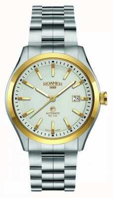 Roamer | automatyczny rd100 | bransoleta ze stali nierdzewnej | biała tarcza | 951660 47 15 90