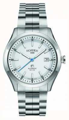Roamer | automatyczny rd100 | bransoleta ze stali nierdzewnej | biała tarcza | 951660 41 25 90