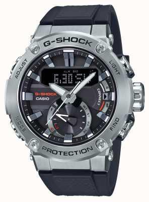 Casio G-stalowy łącznik bluetooth G-Shock 200m wr gumowy pasek GST-B200-1AER