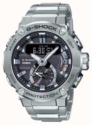 Casio Łącznik Bluetooth G-Shock ze stali G 200m wr ze stali nierdzewnej GST-B200D-1AER
