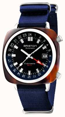 Briston Clubmaster gmt edycja limitowana | automatyczny | niebieski pasek nato 19842.SA.T.9.NNB
