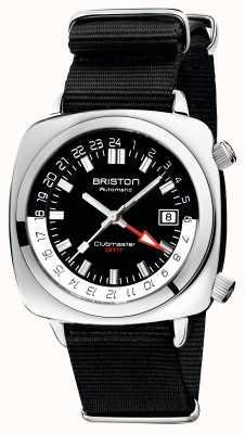 Briston Clubmaster gmt edycja limitowana | auto | czarny pasek nato 19842.PS.G.1.NB