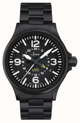 Sinn 856 s utc zegarek pilota z ochroną pola magnetycznego i 856.020