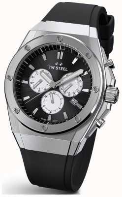 TW Steel | ceo tech | edycja limitowana | chronograf | czarna guma | CE4041