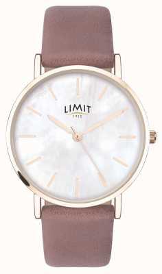 Limit | tajny ogród damski | fioletowy pasek | tarcza z masy perłowej 60048.73