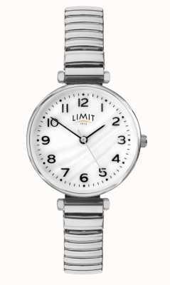 Limit | damska bransoleta ze stali nierdzewnej | tarcza z masy perłowej | 60062.01