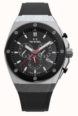 TW Steel | ceo tech | edycja limitowana | chronograf | czarna guma | CE4042
