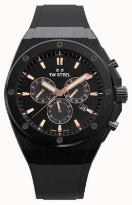 TW Steel | ceo tech | edycja limitowana | chronograf | czarna guma | CE4044
