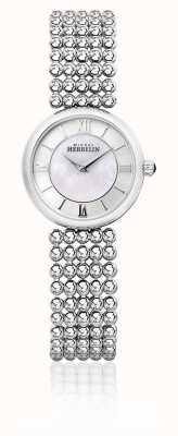 Michel Herbelin | kobiety perle | srebrna bransoletka | tarcza z masy perłowej | 17483/B19