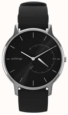 Withings Move ponadczasowy szyk - czarny, czarny silikon HWA06M-TIMELESS CHIC-MODEL 1-RET-INT