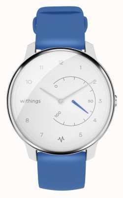 Withings Przenieś ekg | biało-niebieski | monitor aktywności HWA08-MODEL 2-ALL-INT