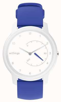 Withings Przenieś ekg | biały i niebieski | śledzenie aktywności HWA08-MODEL 2-ALL-INT