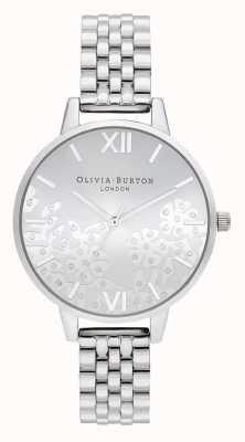 Olivia Burton | damskie | koronkowa koronka | bransoleta ze stali nierdzewnej | OB16MV101