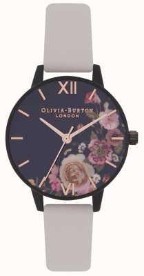 Olivia Burton | damskie | po ciemnym kwiacie | wegański pasek nago | OB16AD30
