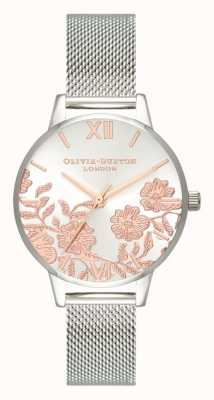 Olivia Burton | kobiety | szczegóły koronki | bransoleta ze stali nierdzewnej | OB16MV90