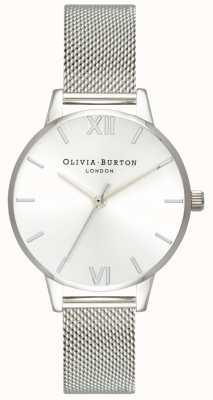 Olivia Burton | kobiety | tarcza słoneczna midi | bransoleta z siatki stalowej | OB16MD86