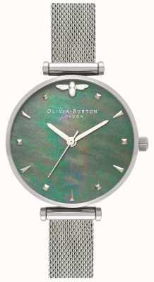 Olivia Burton | damskie | królowa pszczół | perła | bransoletka ze stali | OB16AM151