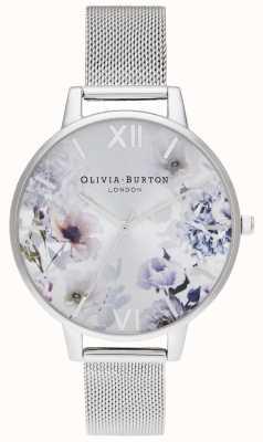 Olivia Burton | kobiety | światło słoneczne florals | bransoleta z siatki stalowej | OB16EG117
