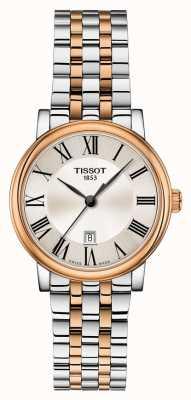 Tissot | carson premium lady | dwukolorowa bransoletka | T1222102203301