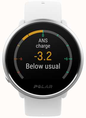 Polar | zapalić | aktywność i hr tracker | biały silikon | m / l | 90071067