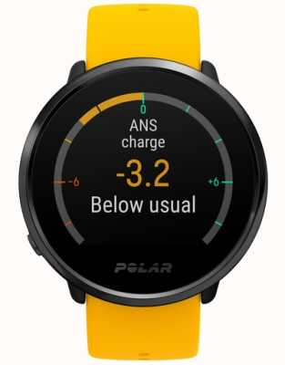 Polar | zapalić | aktywność i hr tracker | żółty silikon | m / l | 90075950