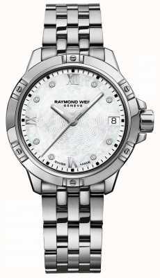 Raymond Weil | tango damskie | tarcza diamentowa | bransoleta ze stali nierdzewnej 5960-ST-00995