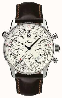 Sinn 903 st srebrny chronograf nawigacyjny 903.042