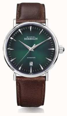 Michel Herbelin | męskie | inspiracja | automatyczne | zielona tarcza | 1647/AP16BR