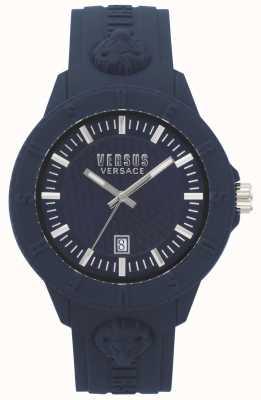 Versus Versace | damskie | tokyo r | niebieski silikon | VSPOY2118