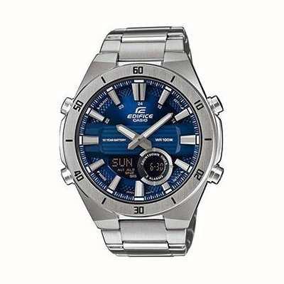 Casio | gmach | męskie | standardowy chronograf | niebieska tarcza | ERA-110D-2AVEF