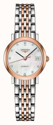 Longines | elegancka kolekcja | kobiety 25,5 mm | szwajcarski automatyczny | L43095877