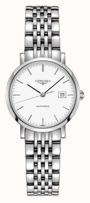 Longines | elegancka kolekcja | kobiety 29mm | szwajcarski automatyczny | L43104126