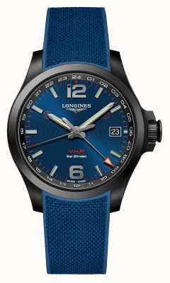 Longines | podbój vhp sport gmt | męskie | ceramika | szwajcarski zegarek L37182969