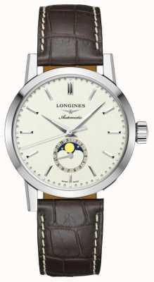 Longines | Kolekcja z 1832 r. | męskie | faza księżyca | szwajcarski automatyczny L48264922